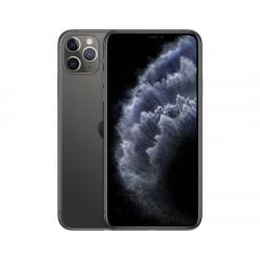IPhone 11 Pro Max Apple, com 64GB  - Cinza Espacial