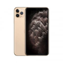 IPhone 11 Pro Max Apple, com 64GB  - Dourado