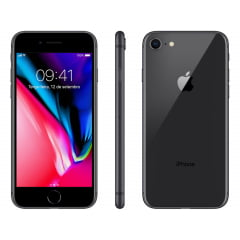 IPhone 8 Apple 256GB - Cinza Espacial