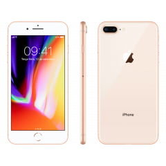iPhone 8  Plus Apple com 128GB – Dourado