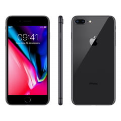 iPhone 8  Plus Apple com 64GB – Cinza-Espacial